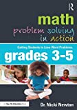 img - for Math Problem Solving in Action: Getting Students to Love Word Problems, Grades 3-5 (Eye on Education) book / textbook / text book