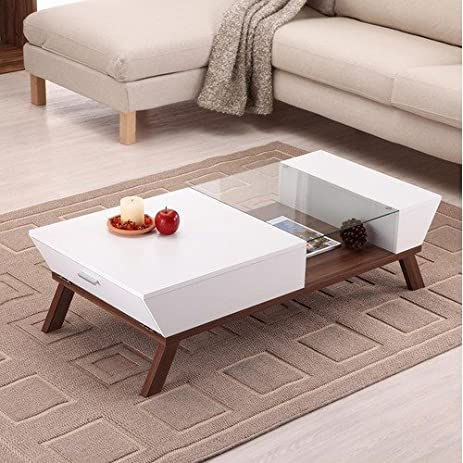 classy hokku designs coffee table. Braxton Coffee Table Finish  White Amazon com Kitchen Dining