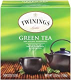 Twinings Green Tea, Tea Bags, 50 Count (Pack of 6)