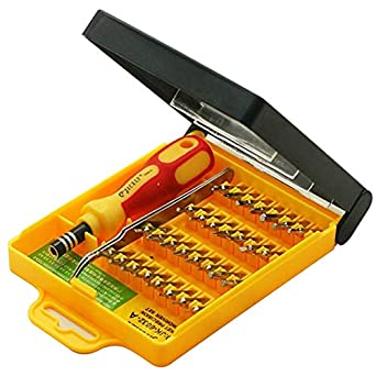 Jackly 32 in 1 Interchangeable Precise Screwdriver Mobile Tool Kit Tools for Home Purpose
