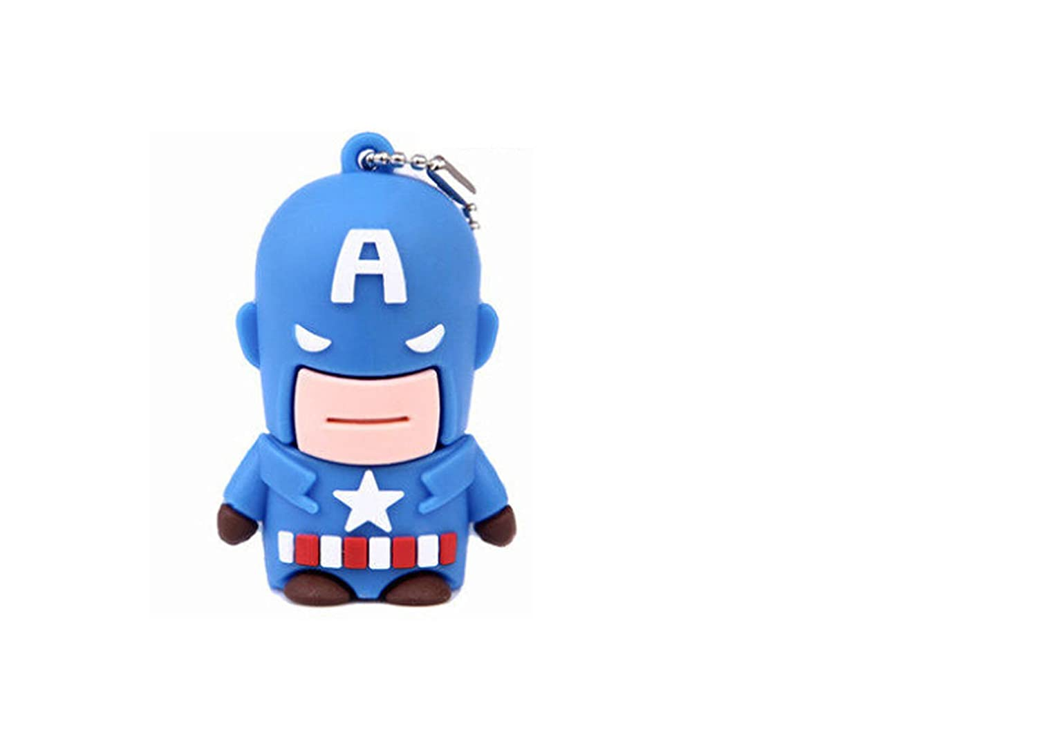 Captain America Cartoon 16g U Disk - Cute Mini Creative U Disk 16g: Amazon.co.uk: Computers & Accessories