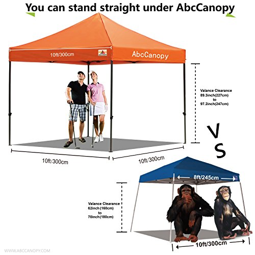 Price on pop up canopy