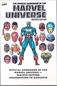 Amazon.com: Essential Official Handbook of the Marvel