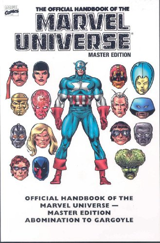 Essential Official Handbook of the Marvel Universe - Master Edition Volume 1