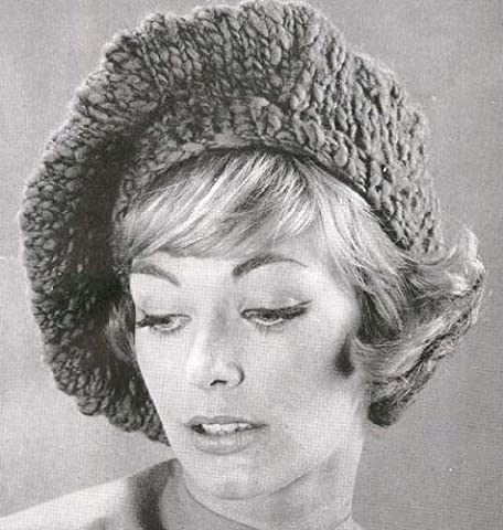 Knitted Slouchy Beret Tam Hat Cap Beanie Knit Knitting Pattern