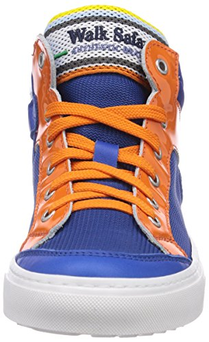Bianco Sneaker Safari hautes Bleu garçon Walk Blau Bluet Baskets Aranc zwU5d5q