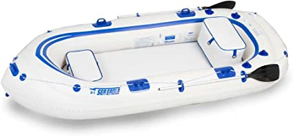 Amazon.com: Sea Eagle SE9 11-Foot Motormount Inflatable Boat ...
