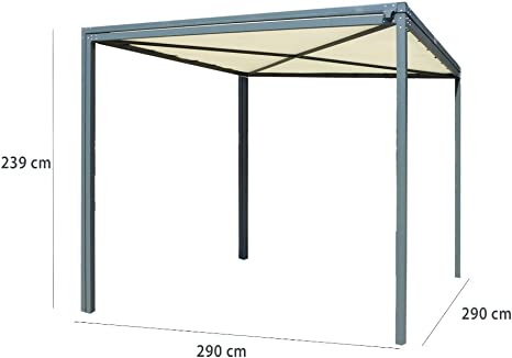 habrita – habrita – Carport Pergola extensible simple-double ...