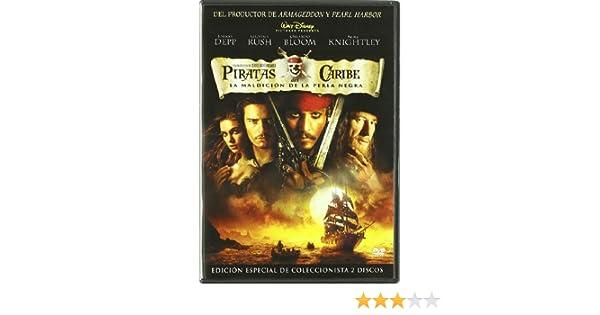Piratas Del Caribe: La Maldición De La Perla Negra - Edición Especial De Coleccionista DVD: Amazon.es: Johnny Depp, Geoffrey Rush, Orlando Bloom, ...