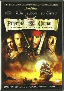 Piratas Del Caribe: La Maldición De La Perla Negra - Edición Especial De Coleccionista [DVD]