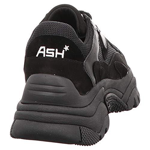 Ash Blanc Pour Noir Baskets Weiß Veloursleder Femme rPqrwSC