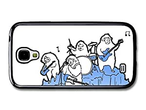 AMAF ? Accessories Arctic Monkeys Rock Band Illustration Playing on Ice case for Samsung Galaxy S4