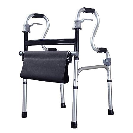 Andador discapacitado con cojín Adulto Caminador de aleación ...