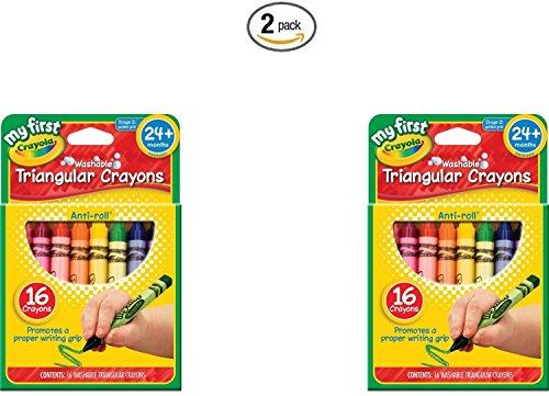 Crayola First Triangular Crayons 16ct