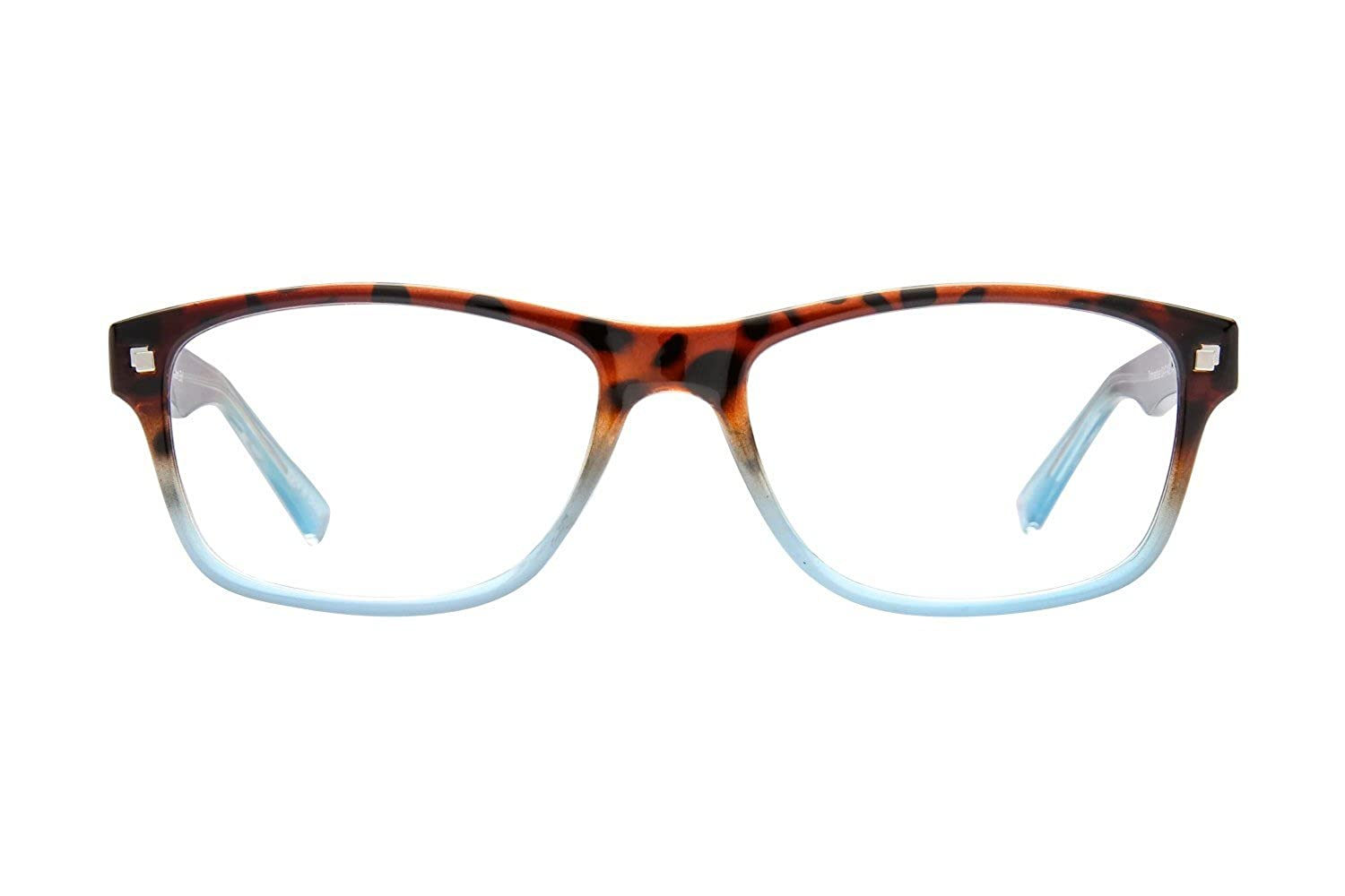 cf83cf1d4589 Lunettos Melissa Womens Eyeglass Frames - Tortoise Blue at Amazon Women s  Clothing store