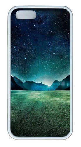 Notte Stellata In Silicone Tpu Gomma Per Iphone 5 E Iphone 5s