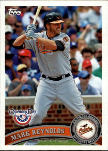 - 2011 Topps Opening Day Baseball Card #152 Mark Reynolds
