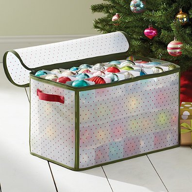 Real Simple Holiday 112-Count Ornament Storage Box by Real Simple