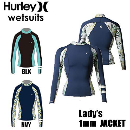 ー品販売  HURLEY レディース ハーレー ウェットスーツ レディース BLK,Medium WMS ICON 1MM B07LGQR82Q JACKET タッパー GZLSJK18 B07LGQR82Q BLK,Medium, 好きに:e69b115f --- vanhavertotgracht.nl