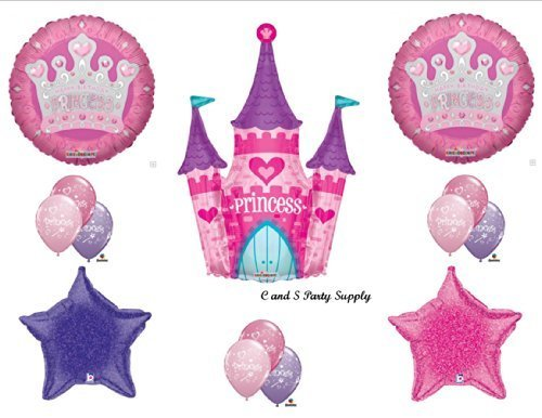 FAIRY TALE PRINCESS CASTLE BIRTHDAY PARTY Balloons Decorations Supplies by Anagram