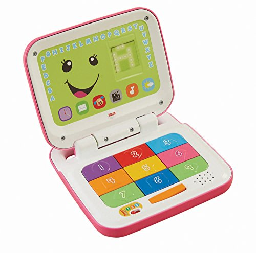 Fisher-Price Laugh & Learn Smart Stages Laptop - Spanish (Pink/White)