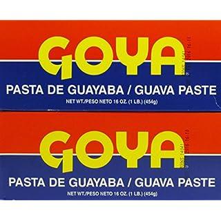 Goya Guava Paste / Pasta De Guayaba 16 Oz (1 Lb, 454 G) Bars (2 Pack) by Goya