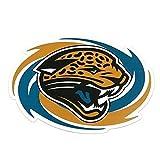 "NFL Officially Licensed 11"" X 8"" Swirl Sport Magnet (Jacksonville Jaguars)"