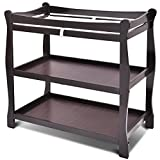 Costzon Baby Changing Table Infant Newborn Nursery Station Dressing Changer (Espresso)