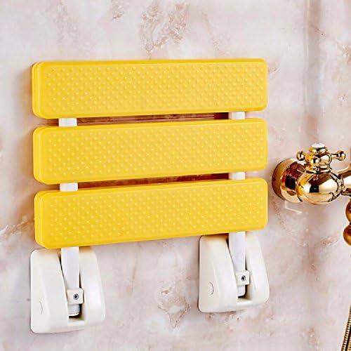浴室用手すり 折りたたみ椅子の折り畳み椅子の腰掛け椅子シャワーベンチ,白