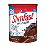 SlimFast � Original Meal Replacement Shake Mix Powder � Weight Loss Shake � 10g of Protein � 24 Vitamins and Minerals Per Serving � Great Taste � 31.18 oz. � Rich Chocolate Royale Flavor