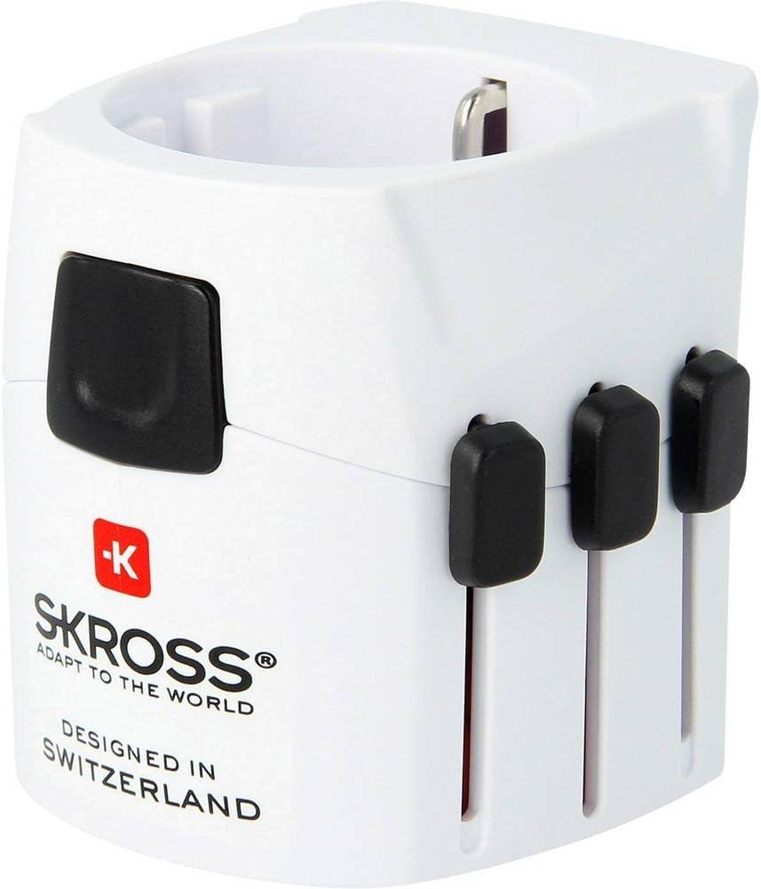 Skross Pro Light 3 Pol Reiseadapter Für Reisende Aus Computer Zubehör