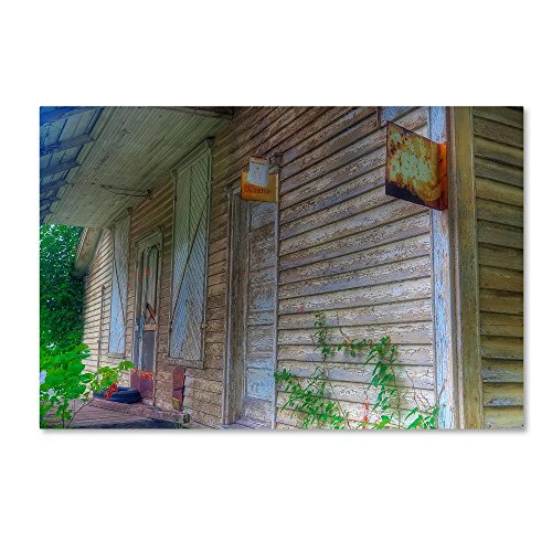 General Store Front by Bob Rouse, 22x32-Inch Canvas Wall - Store Rouse