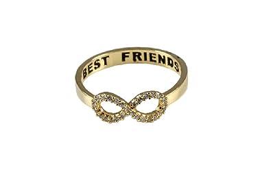 e42283597b260 Isola & Co Best Friends Forever Infinity Ring for Women