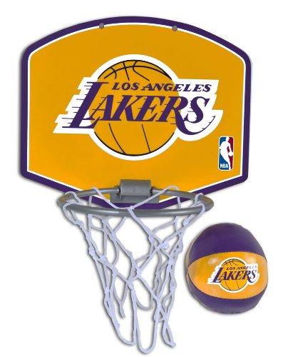 Spalding NBA Los Angeles Lakers Mini Hoop Set
