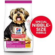 Hill's Science Diet Dry Dog Food, Adult, Small Paws for Small Breed Dogs, Chicken Meal & Rice, 4.5 LB