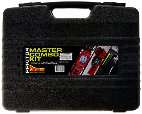 POWER PROBE IV Master Combo Kit - Red (PPKIT04) Includes Power Probe IV with PPECT3000 and Accessories by Power Probe (Image #2)