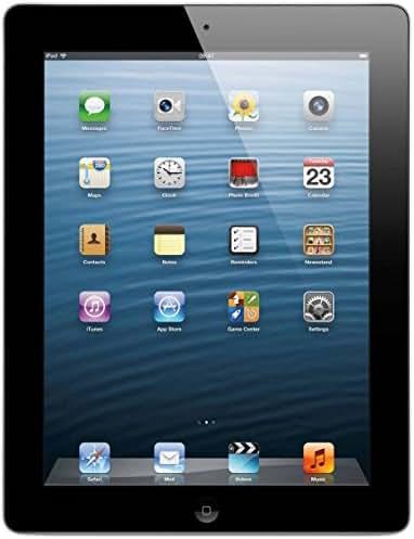 Apple iPad with Retina Display MD511LL/A (32GB, Wi-Fi, Black) 4th Generation (Renewed)