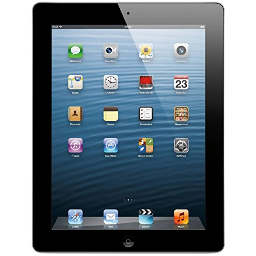 I-amp Lens - Apple iPad with Retina Display MD511LL/A (32GB, Wi-Fi, Black) 4th Generation (Certified Refurbished)