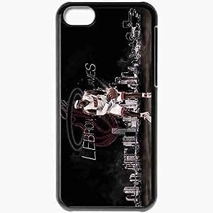 XiFu*MeiPersonalized iphone 6 plua 5.5 inch Cell phone Case/Cover Skin Lebron james lebron james nba miami heat miami heat basketball BlackXiFu*Mei