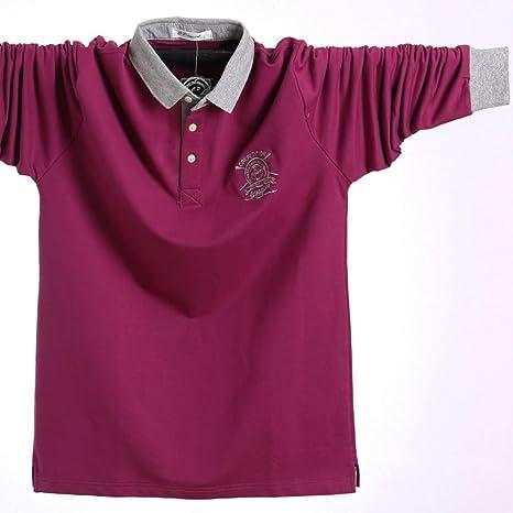 NISHIPANGZI Los Hombres Polo Shirt Otoño Hombres de Negocios ...