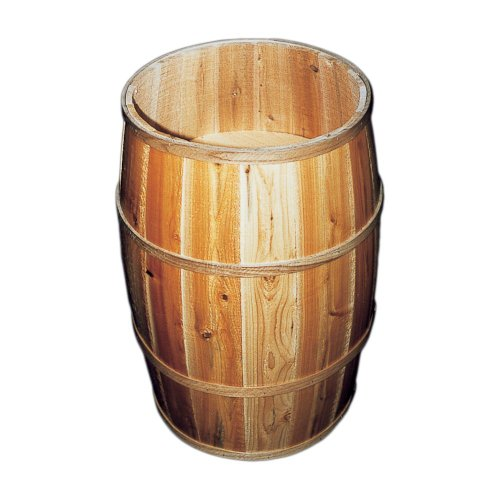 (Bradbury Barrel 2030DB/2B Wooden Peanut Barrel)