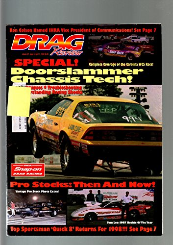 DRAG REVIEW-APR 11998-IHRA-CAROLINA WCS-CHASSIS TECH-TOP SPORTSMAN 'QUICK 8' VG