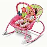 Toyshine Newborn to Toddler Music and Vibrating Rocker Chair with Calming Vibrations, Adjustable Mode, Assorted Design