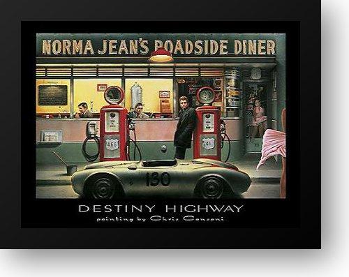 - Destiny Highway 18x15 Framed Art Print by Consani, Chris
