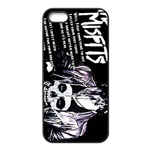 CTSLR Band The Misfits Hard Case Cover Skin for Apple iPhone 6 4.7 1 Pack - Black/White - 6 4.7