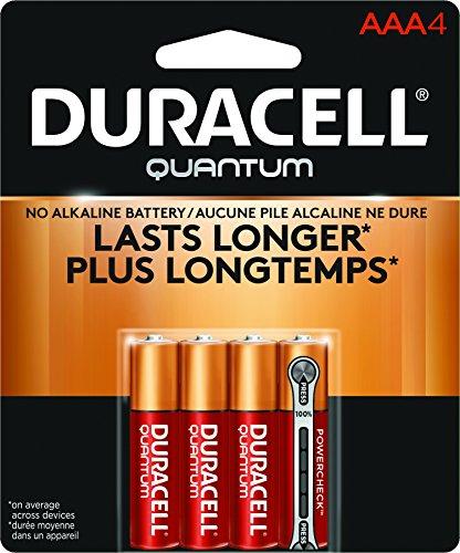 Duracell Quantum Alkaline AAA Batteries - 4 Count