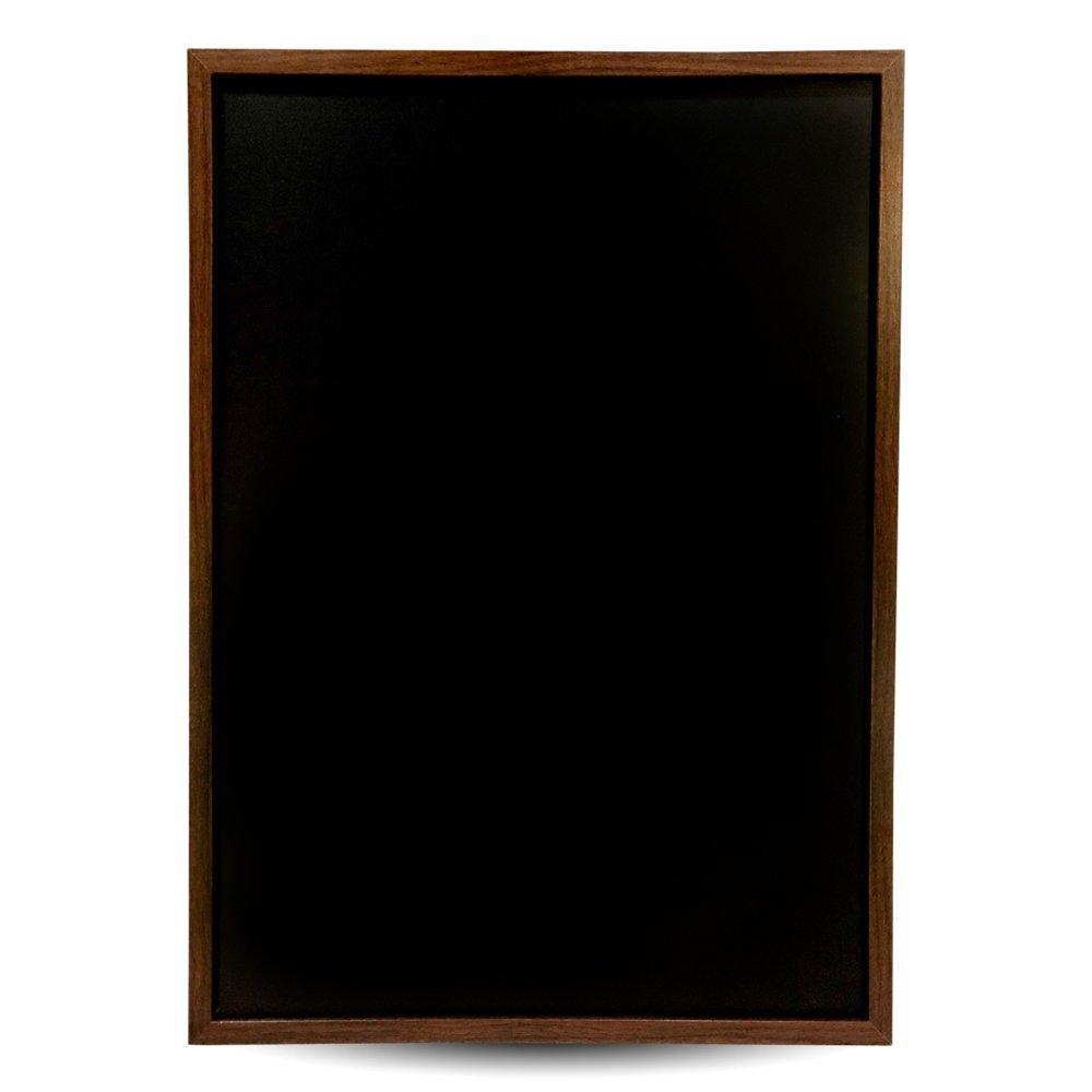 Vintage Wood Frame Premium Magnetic Chalkboard- 15.6