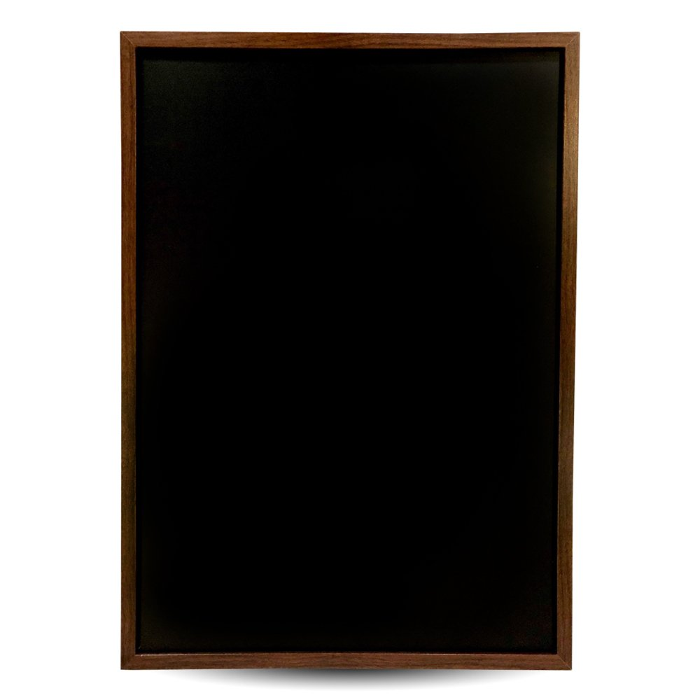 Vintage Wood Frame Premium Magnetic Chalkboard- 15.6''x 23.6'', Decorative Wall Mounted Blackboard, Great for Chalk Markers, Home Decor, Wedding and Restaurant Menu