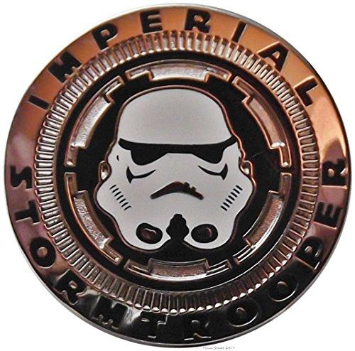 Star Wars Imperial STORMTROOPER Helmet Metal (Metal Pin Badge)