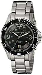 Hamilton Men's H64515133 Analog Display Swiss Automatic Silver Watch